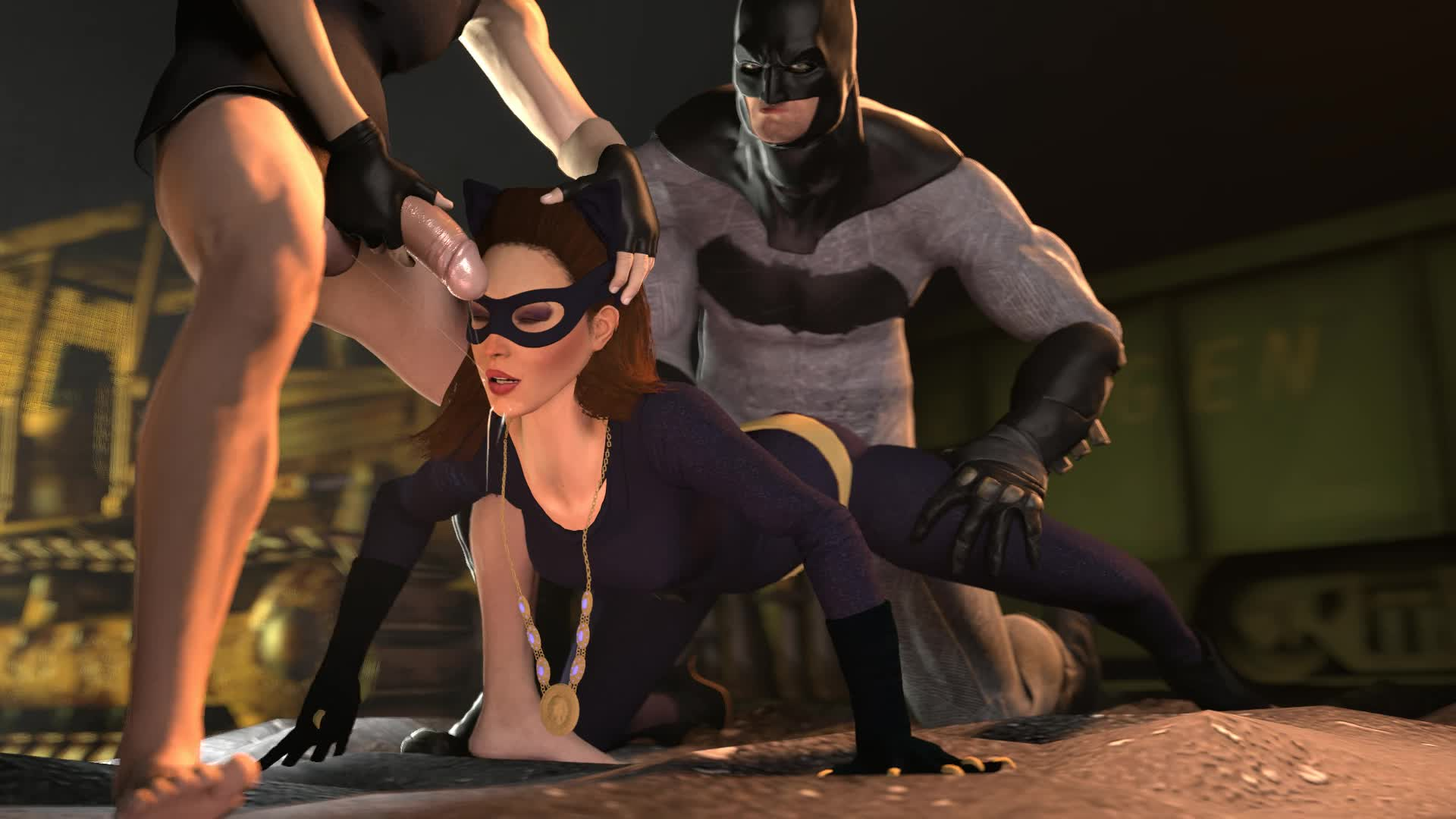 Have sex with catwoman vs refuse