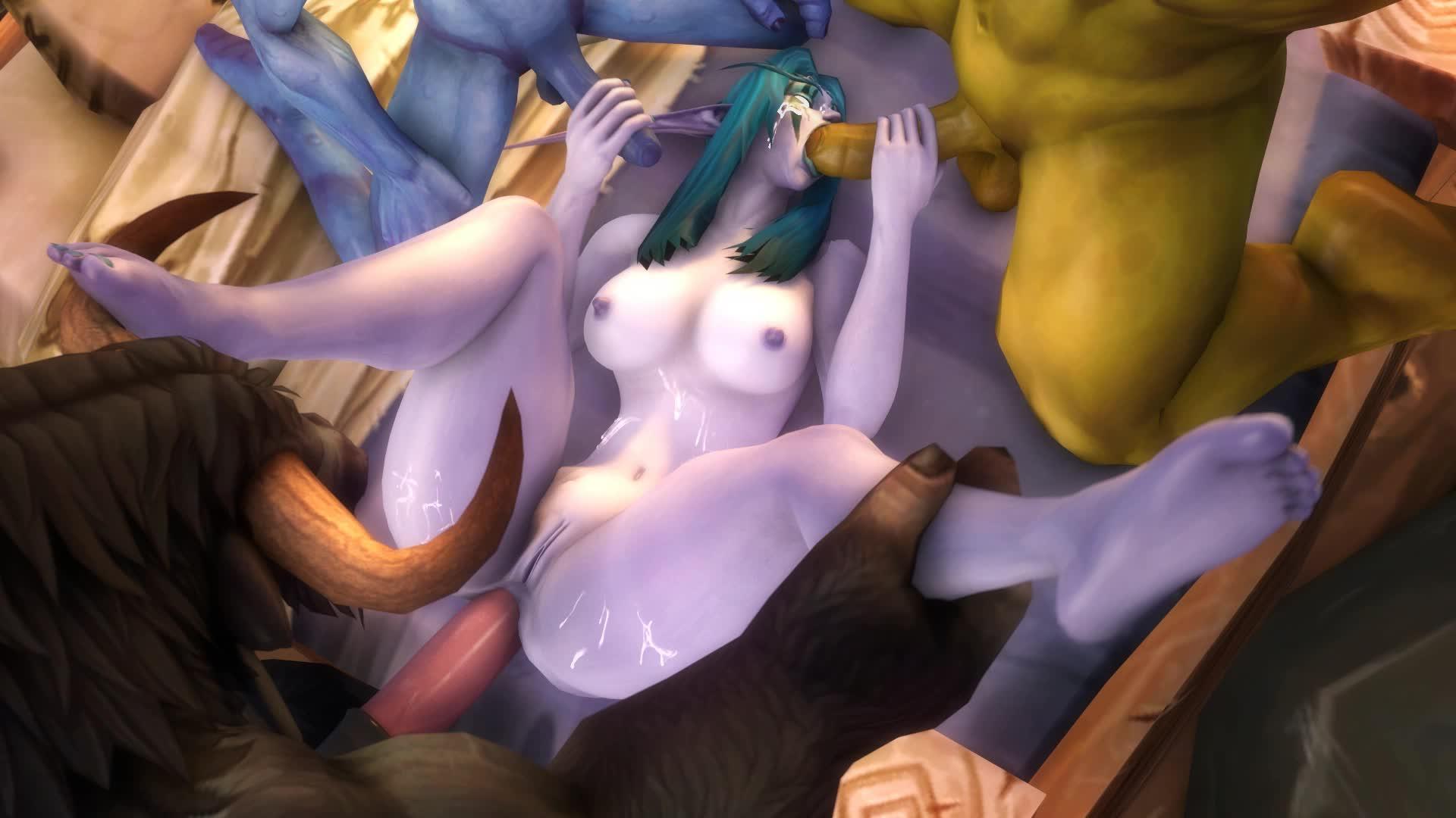 Free World Of Warcraft Night Elf Porn