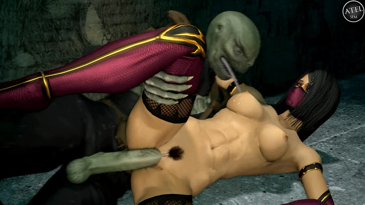 Mortal Kombat Nude Art