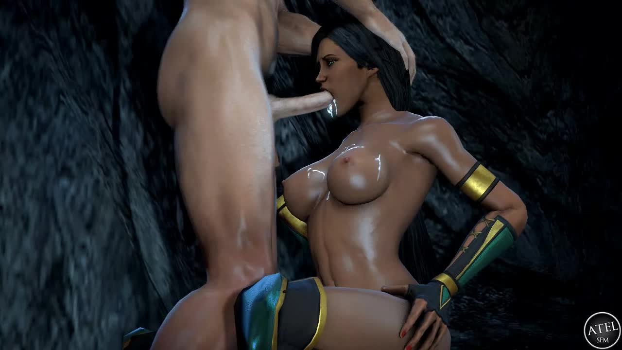 Mortal kombat kitana blowjob
