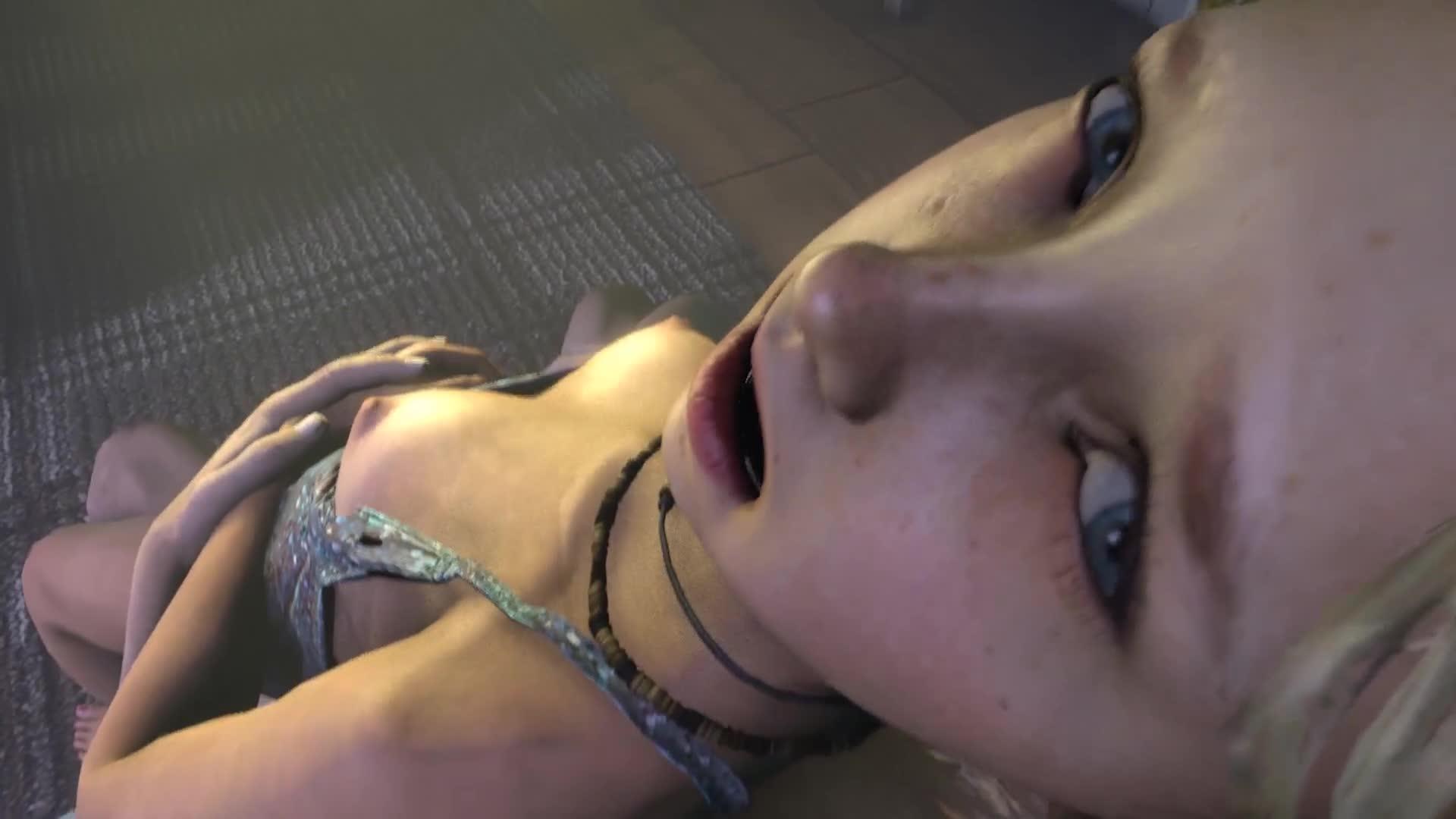 The Last Of Us Sarah Miller Blonde Hair 3d - Lewd.ninja